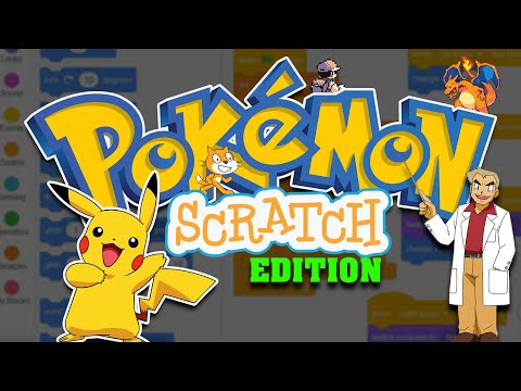 Make A Pokemon Game using Scratch