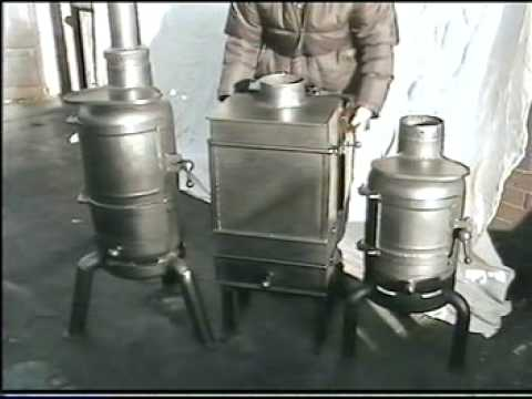 Introduction on how to make a solid fuel burning stove from an old gas bottle.