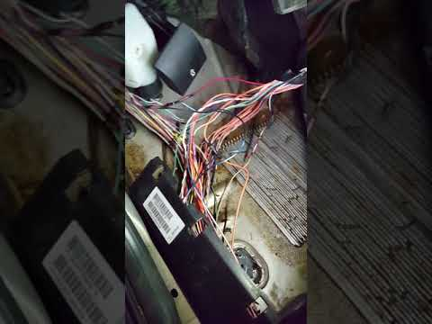06 jeep grand Cherokee sunroof drain clogged and wiring