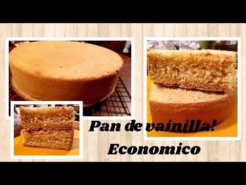 Pan de vainilla o (esponja )