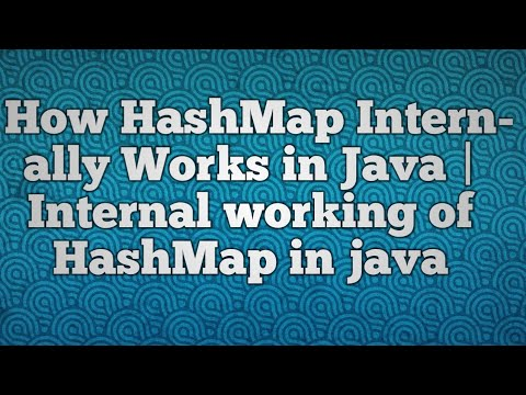 How HashMap Internally Works in Java | Internal working of HashMap in java
