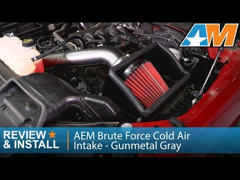 2015-2016 F-150 AEM Brute Force Cold Air Intake - Gunmetal Gray (5.0L) Review & Install