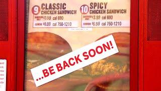 Popeyes' Hints Its Popular Chicken Sandwich Is Returning