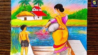 My Village Drawing Competition Videos 9tube Tv