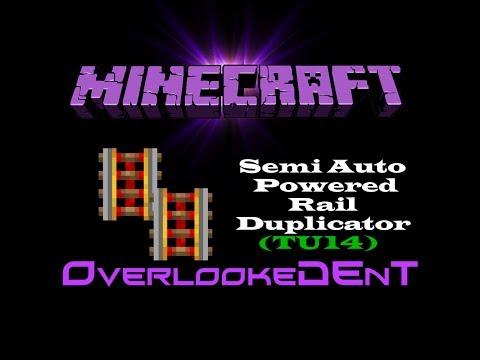 Semi Auto Powered Rail Duplicator (TU14) - Minecraft Xbox 360/PS3 - [Tutorial]