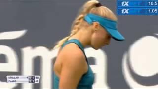 S-Hertogenbosch R1 Fanny Stollar highlights vs Shuai Zhang