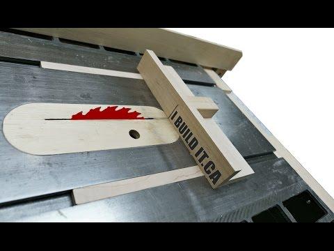 How To Make A Mini Table Saw Sled