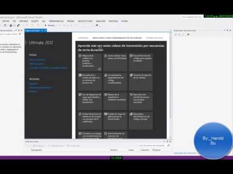 Descargar e instalar Visual Studio 2012