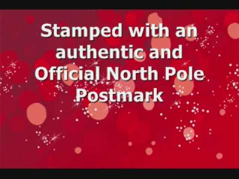 Santa Letters from the North Pole - Personalized