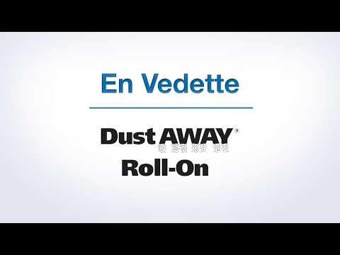 Vidéo de présentation détaillée du composé à joint Dust Away® Roll-On (Français canadien)