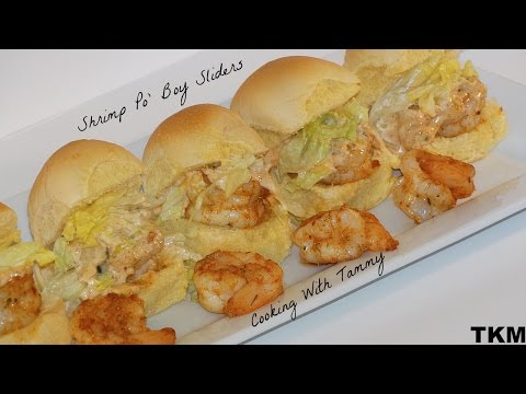 Shrimp Po' Boy Recipe (Sliders)