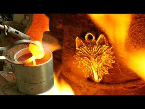 The Casting of a Bronze Age Wolf's Head