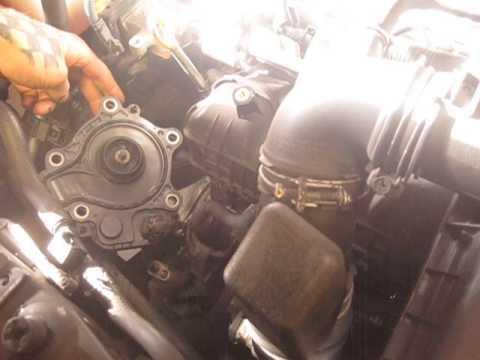 Gen 3 Prius overheating, dead water pump impeller