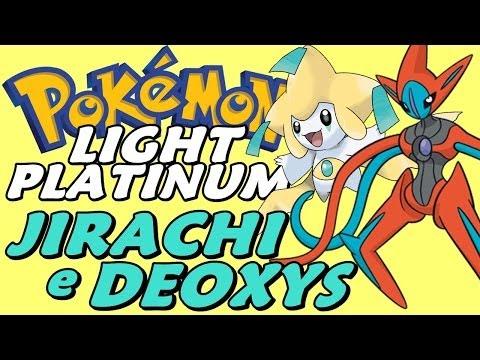 Pokémon Light Platinum (Detonado - Parte 52) - Lendários: Deoxys e Jirachi