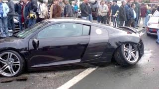 IDIOT AUDI DRIVERS CAUGHT ON CAMERA! Stupid AUDI Driving Fails Compilation 2017