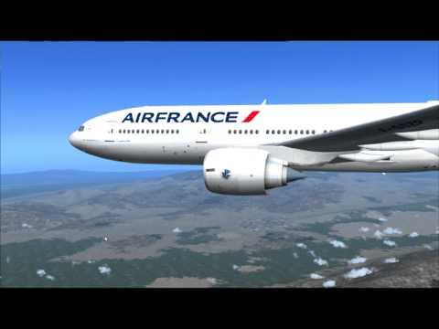 777-200ER AIR FRANCE PARIS - SANTIAGO