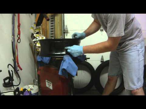 GSXR Rear Tire Wheel Removal Replace