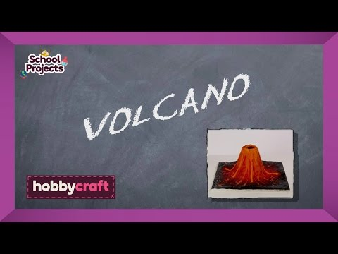 How to Make a Clay Volcano | Hobbycraft