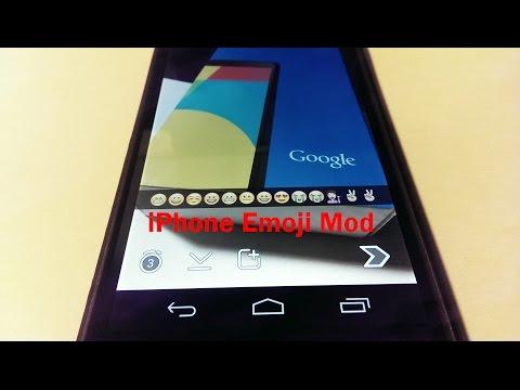 How to Install iPhone Emoji onto your Nexus 5