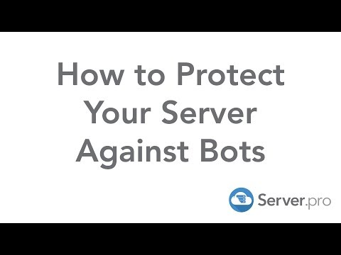 How to Protect Your Server Against Bots - Server.pro