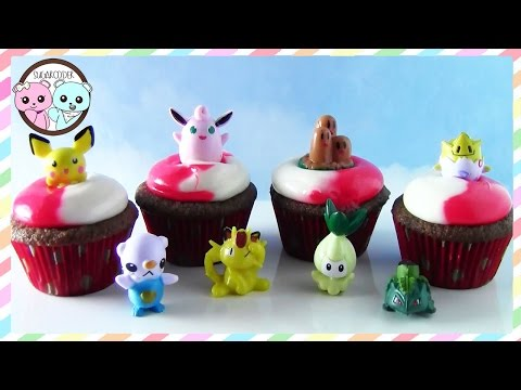 POKEMON CUPCAKES, POKEMON CAKE - ANIME TREATS