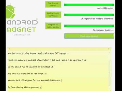 Tutorial for how to update android to Jellybean, KitKat Lollipop and Nougat