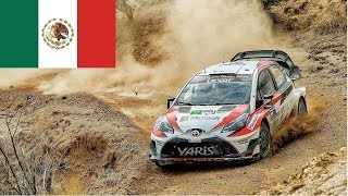 WRC Rally Guanajuato Mexico 2018| RESUMEN [PURE SOUND] [Highlights]