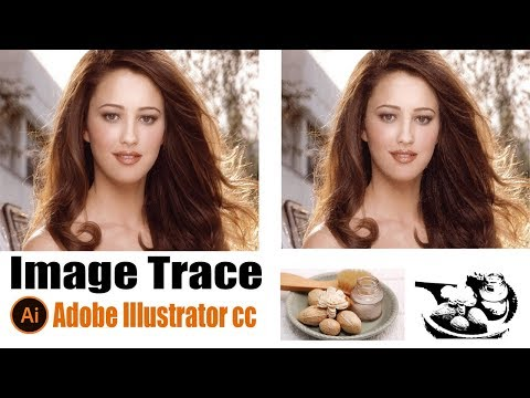 How To Image Trace In Adobe Illustrator cc 2018|Convert JPG Image Into Vector In Illustrator CC