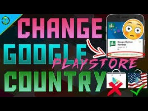 How to Change Google Play Store Country to U.S.A. For All Android Versions | TCG