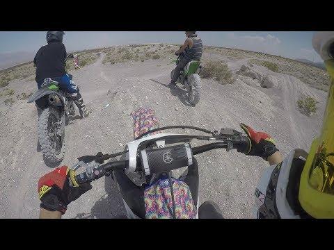 doing 100mph in the desert