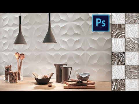 How to Create Tile Pattern in Photoshop | Seamless Pattern Making for Ceramic Tiles