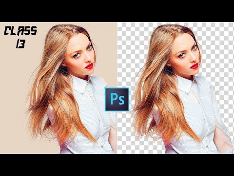 Hair cut out - how to Hair Cutting in Adobe Photoshop CC 2017 Full Training Course Class # 13