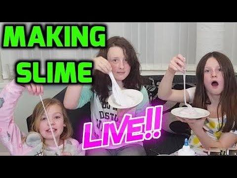Making Slime - Live!