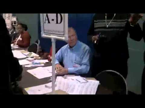 Registered Voters Forced to Vote with Provisional Ballots - Driving Park, Columbus, Ohio