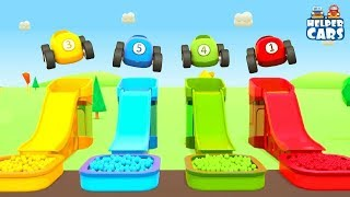 Learn Colors for Kids with Helper Cars: A Car Maker Machine - A Tow Truck & Trucks for Kids