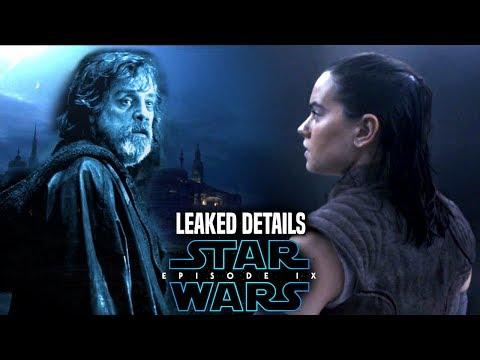 Star Wars Episode 9 Leaked Details Of Luke & More! (Star Wars News)
