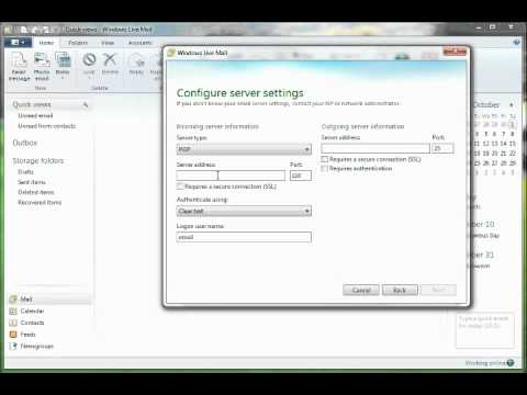 Windows Live Mail 2011 Diode Mail Tutorial