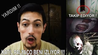 Download KORKUNÇ PALYAÇO BENİ İZLİYOR !! (LÜTFEN YARDIM EDİN !!) Video