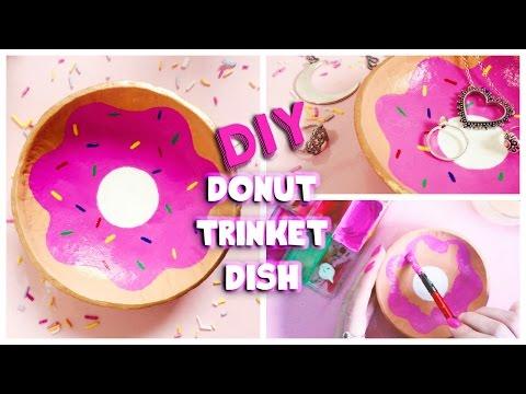 DIY | Doughnut Trinket Dish Using Air Dry Clay