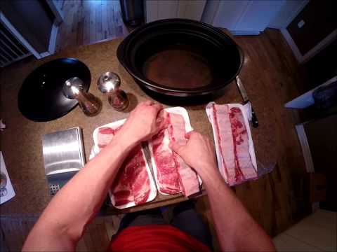 Mouth Watering Pork Ribs Recipe (Crock Pot)