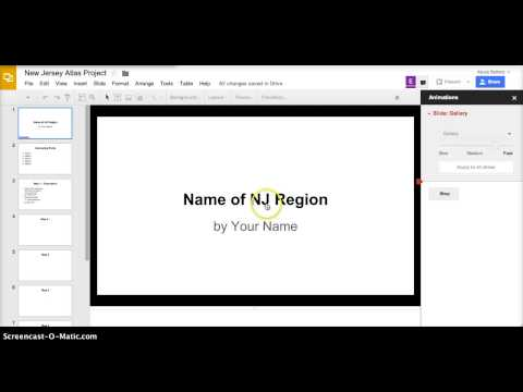 How to Animate and Add Transitions in Google Slides