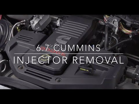 6.7 Cummins Injector Removal