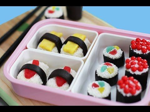 Candy Sushi OREOS? No Bake Sweet Sushi Cookie Pops Recipe | My Cupcake Addiction