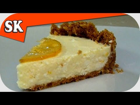 CHEESECAKE RECIPE - NO BAKE - Traditional Lemon Cheese Cake