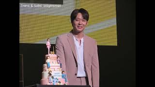 [ENG SUBS] Yoochun's Letter to Fans:: Birthday Fanmeeting 2018.06.04