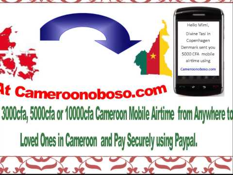 Send Mobile Airtime to Cameroon