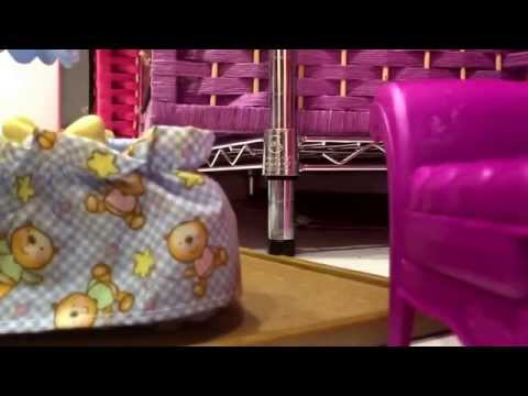 How to make a nursery for your baby doll!