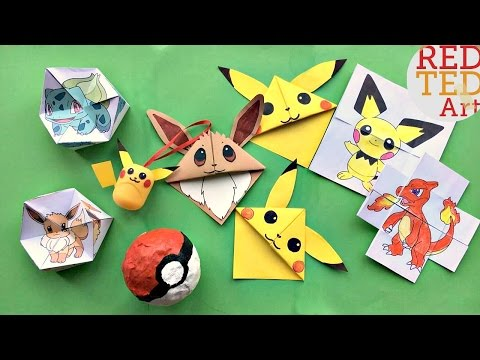 5  Fun Pokemon DIYs & Crafts