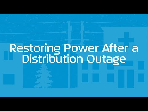 Restoring Power After a Distribution Outage