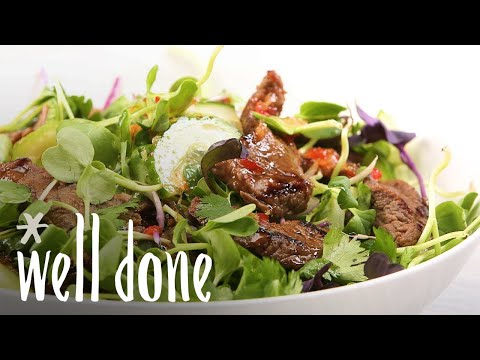How To Make Thai Beef Salad | Recipe | Well Done